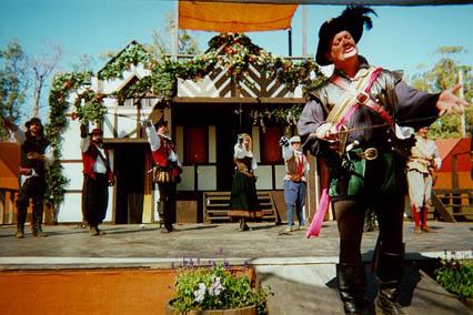 Maestro Michael Cawelti performing cira 2000